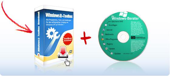 """Windows 8-Toolbox""-Download + Windows-Profi-Tools auf DVD"