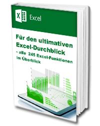 Für den ultimativen Excel-Durchblick – alle 245 Tabellenfunktionen im Überblick