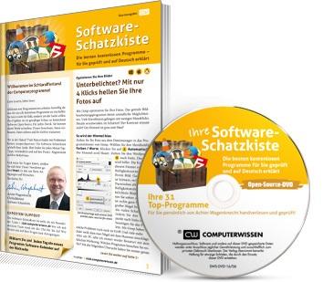 """Ausgabe """"Software-Schatzkiste"""" + DVD """"Software-Schatzkiste"""""""